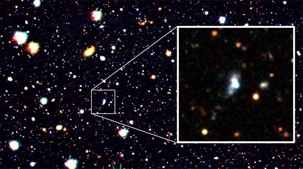 現存する形成初期の銀河 すばる望遠鏡とAI技術で発見:時事ドットコム