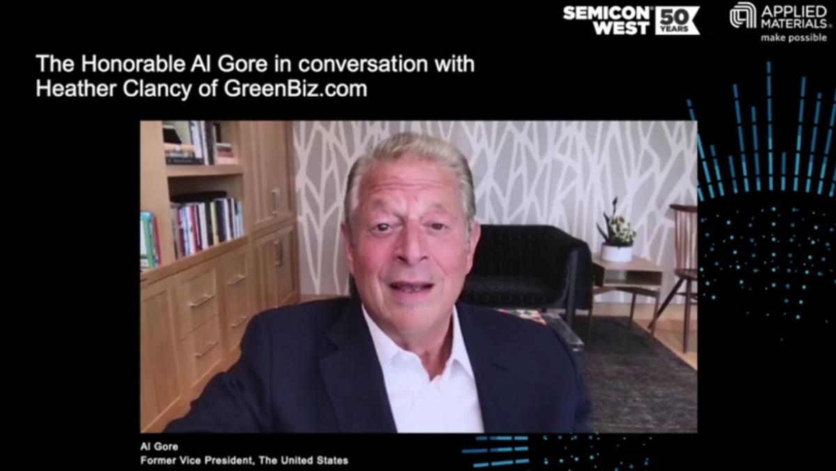 ノーベル平和賞 アル・ゴア氏が語った、環境とテクノロジーの「あるべき未来」  ビジネス+IT