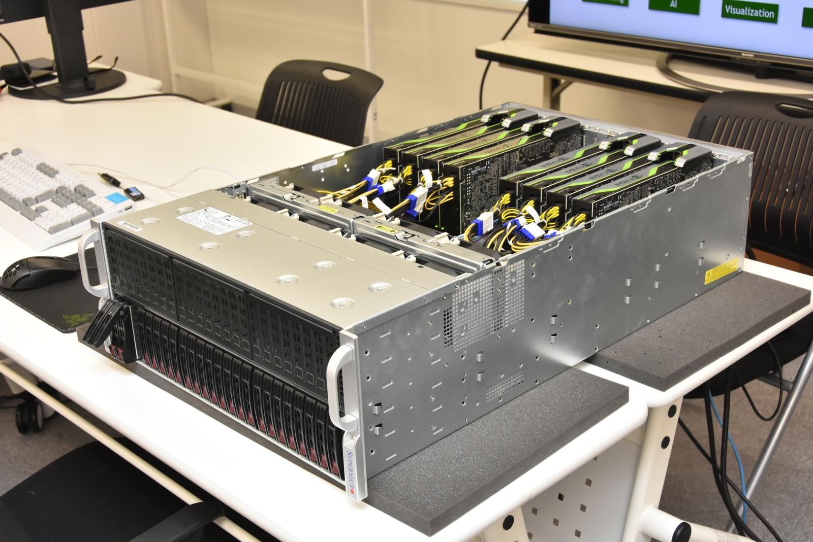 最新GPUサーバが設計開発のリモートワークをサクサク・ヌルヌルに - MONOist(モノイスト)