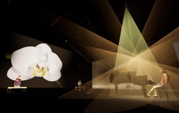 グレン・グールドの音楽表現を学習したAIが 日本科学未来館のイベント「ひらめきの庭」にピアノ演奏を披露 | Webマガジン「AXIS」 | デザインのWebメディア