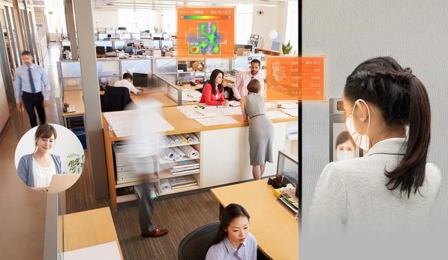 業界初、A I顔認証・検温・入退室・勤怠・混雑状況を遠隔で一元管理できる「SECURE AI Office Base」を提供開始:時事ドットコム