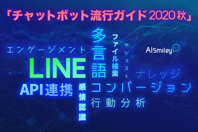 AIポータルメディア「AIsmiley」がチャットボット流行ガイド2020秋を公開!:時事ドットコム