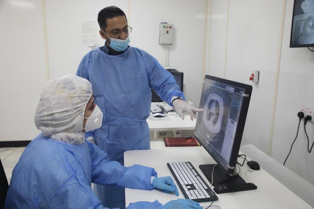 中国の医療機器、イラクで新型コロナ治療に貢献 写真6枚 国際ニュース:AFPBB News
