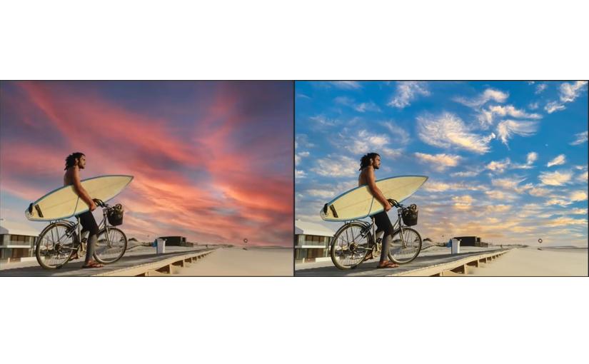 AIで写真の空を置き換え可能に、Photoshopの新機能 | Ledge.ai