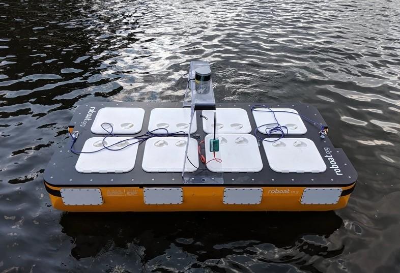 MITが合体するタイプの自律航行ボートの改良版「Roboats II」を公開 - ROBOTEER(ロボティア)