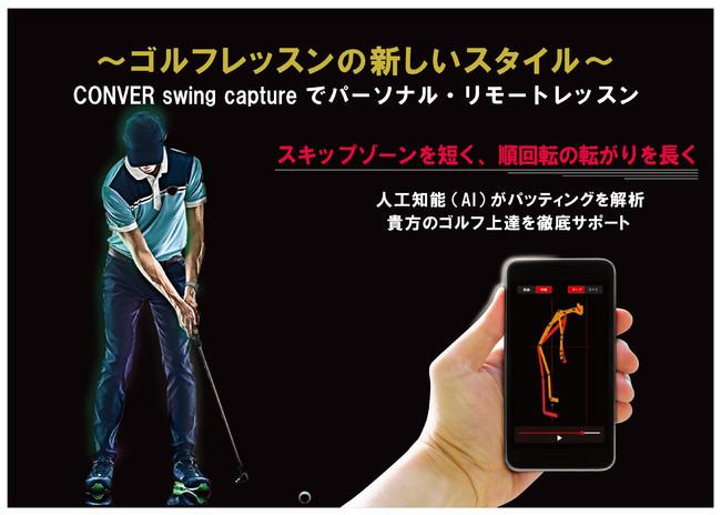 ~ゴルフレッスンの新しいスタイル~ CONVER Swing Captureでパーソナル・リモートレッスン:時事ドットコム
