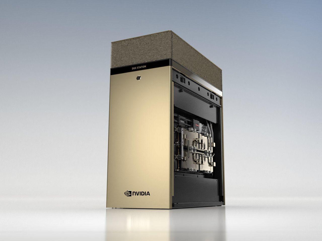 NVIDIA、新AIワークステーション「DGX Station A100」発表 - ZDNet Japan