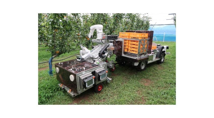 農研機構・立命館大学・デンソー、自動果実収穫ロボットのプロトタイプを開発 | IoT NEWS