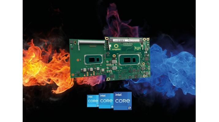 コンガテック、屋外および車載アプリケーション向けに過酷な温度環境に対応する、第11世代Intel(R) Core(TM)プロセッサ搭載最新モジュールを発表     | コンガテック ジャパン 株式会社