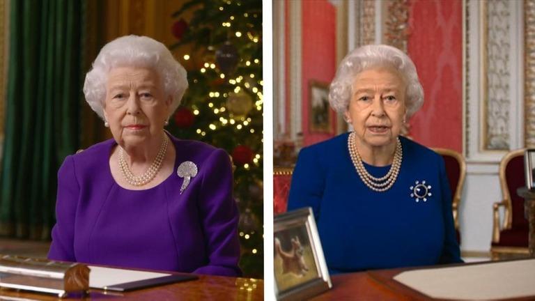 CNN.co.jp : 「ディープフェイク」の英女王が演説、ダンスも 偽情報に警鐘